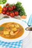 Fresh bouillabaisse Stock Photos