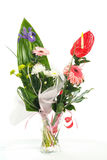Fresh bouquet from pimk gerbers Stock Photos