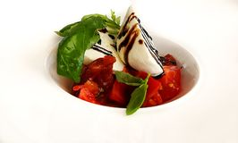 Tomato and Mozzarella Salad Royalty Free Stock Photos