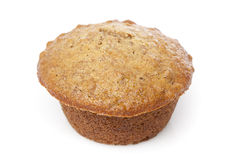 A fresh bran muffin Royalty Free Stock Photo