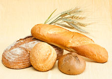 Fresh bread. Stock Photo