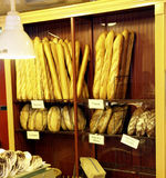 Fresh Bread. In bakery in Seattle Royalty Free Stock Image