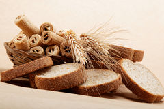 Fresh bread . Royalty Free Stock Image