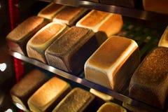 Fresh bread. At the bakery Stock Photo