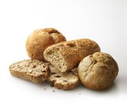 Still life of fresh bakery bread. royalty free stock photo