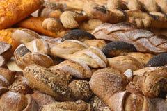 Fresh bread. Fresh baked bread at the bakery Stock Photo