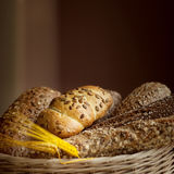 Fresh bread from the bakery. Royalty Free Stock Photography