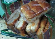 Fresh Bread from bakery. A nice still of a bread packs from the bakery Royalty Free Stock Image