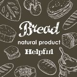 Fresh bread and bakery products Royalty Free Stock Photo