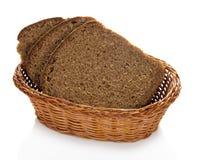 Fresh bread in basket Royalty Free Stock Image
