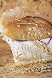 Fresh bread in the basket Royalty Free Stock Photo