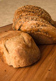 Fresh bread with bran cereal Royalty Free Stock Photography
