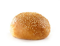 Fresh bread bun Stock Photography