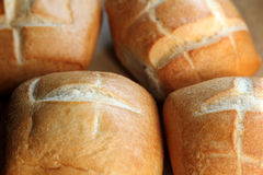 Fresh bread bun Stock Photo