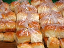 Fresh Bread Buns Stock Images