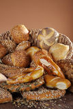 Fresh bread and buns Royalty Free Stock Photos
