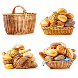 Fresh bread and buns Royalty Free Stock Image