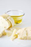 Fresh bread and cheese Royalty Free Stock Images
