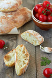 Fresh bread ciabatta Royalty Free Stock Photos