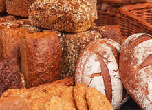 Fresh bread collection Royalty Free Stock Image