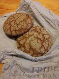 Fresh bread. Freshly baked ryebread Royalty Free Stock Photo