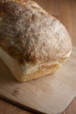 Fresh Bread. Fresh homemade bread sits cooling on a table Stock Images
