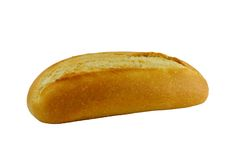 Fresh Bread Isolated Stock Photo