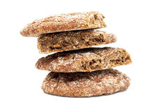 Fresh bread isolated Royalty Free Stock Images