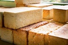 Fresh bread loafs, Pangboche bakery Nepal. Royalty Free Stock Photos