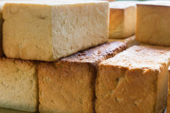 Fresh bread loafs, Pangboche bakery Nepal. Royalty Free Stock Images