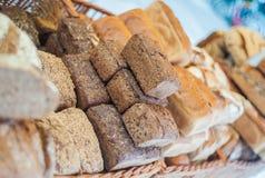 Fresh bread loaves Stock Photo