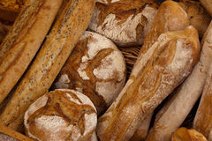 Fresh bread at market Royalty Free Stock Photography