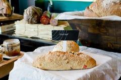Fresh bread ready to eat Stock Photos