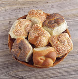 Fresh Bread Rolls Stock Image