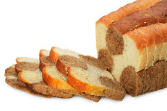Fresh Bread from rye and wheat flour Royalty Free Stock Images
