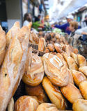 Fresh bread for sale Stock Photography
