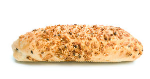 Fresh bread with seeds Stock Image