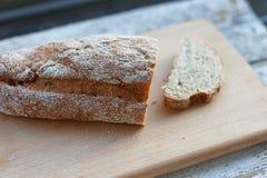 Fresh bread slice Royalty Free Stock Image