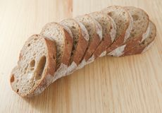 Fresh bread sliced Royalty Free Stock Image