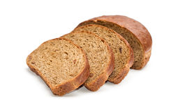 Fresh bread sliced Royalty Free Stock Photos