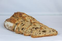 Fresh bread slices Royalty Free Stock Photography