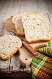 Fresh bread slices Royalty Free Stock Images