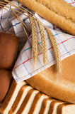 Fresh bread still life Royalty Free Stock Photography