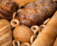 Fresh bread still life Royalty Free Stock Photos