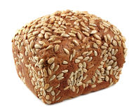 Fresh bread with sunflower seeds Stock Photos
