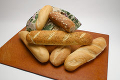Fresh Bread Variety Stock Images