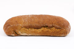 Fresh bread on a white background Stock Photography