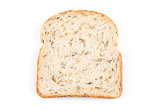 Fresh bread on white Stock Photography