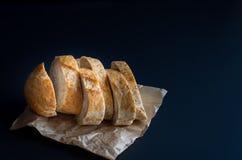 Fresh bread whole-grain bread. grain bread stock photo