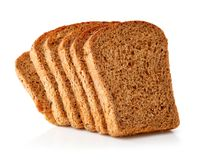Fresh Bread With Slices Stock Photography